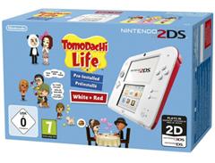 Bild zu Nintendo 2DS weiß-rot + Tomodachi Life für 63€ (Vergleich: 74€)