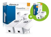 Bild zu DEVOLO dLAN 1200+ Starter Kit + DEVOLO dLAN 1200+ Einzeladapter für 100,99€ (Vergleich: 145,98€)