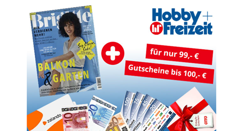 """Bild zu Jahresabo (26 Ausgaben) Zeitschrift """"Brigitte"""" für 99€ + bis zu 100€ Prämie"""