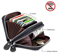 Bild zu LEBEXY Kartenetui (Geldbörse mit RFID Schutz) für 9,99€