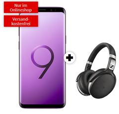 Bild zu SAMSUNG Galaxy S9 Dual-SIM & Sennheiser HD 4.50 für 49€ mit 2GB LTE Datenflat und Sprachflat im Vodafone Netz für 21,99€/Monat