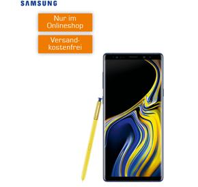 Bild zu SAMSUNG Galaxy Note 9 (Vergleich: 619,99€) mit o2 Tarif (1GB LTE, SMS und Sprachflat) für 19,99€/Monat (Gesamtkosten: 618,75€)