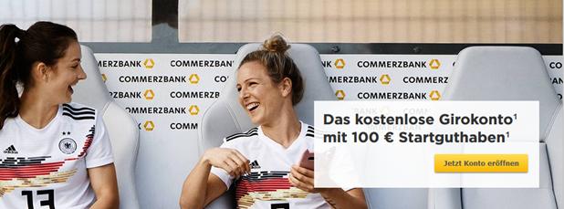 Bild zu [nur noch im März] Commerzbank: 100€ Startguthaben beim kostenlosen Girokonto – ohne Mindestgeldeingang