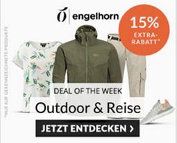 Bild zu Engelhorn Sports: 15% Rabatt auf Outdoor & Reise