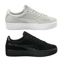 Bild zu PUMA Vikky Platform Damen Sneaker grau oder schwarz für je 23,92€ (Vergleich: 33,09€)