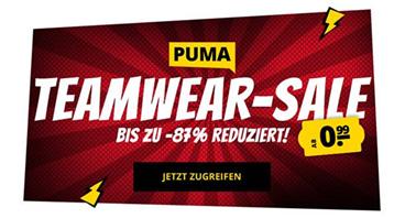 Bild zu SportSpar: PUMA Teamware Sale mit bis zu 87% Rabatt, so Artikel bereits ab 0,99€