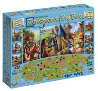 Bild zu Asmodee Carcassonne Big Box Brettspiel für 38,48€ (Vergleich: 49,93€)