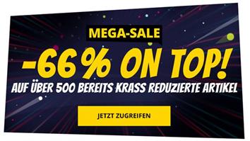 Bild zu SportSpar: Mega Sale mit 66% Extra-Rabatt auf über 500 Artikel