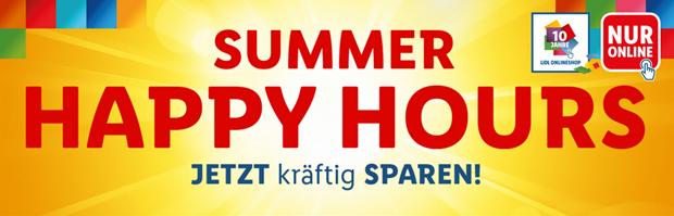 Bild zu Lidl Happy Hours von 16-24 Uhr mit Extra-Rabatten + kostenlosem Versand ab 50€