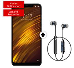 Bild zu XIAOMI Pocophone F1 für 9€ (VG: 274,57€) & gratis Sennheiser CX (VG: 71€) mit Vodafone Allnet Flat und 2GB LTE Datenflat für 16,99€/Monat