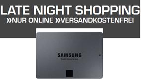 Bild zu Saturn Late Night Shopping mit IT Highlights, so z.B. Samsung 860 QVO 1TB SSD für 99€