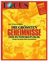"""Bild zu [nur 150x] Halbjahresabo (26 Ausgaben) der Zeitschrift """"FOCUS"""" für 117€ + 100€ Verrechnungsscheck als Prämie"""