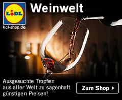 Bild zu Lidl: 15% Rabatt auf alle Weine und Weinpakete + kostenlose Lieferung (ab 60€ MBW)