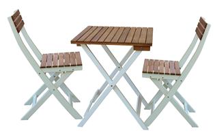 """Bild zu bellavista Gartenset """"Melbo"""" 3tlg. (2 Stühle, ein Tisch) für 39,94€"""