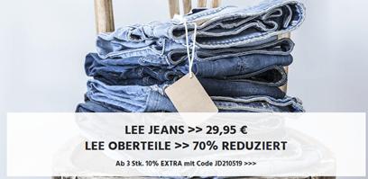 Bild zu Jeans Direct: knapp 400 Herren Jeans für je 29,95€ + 10% Extra-Rabatt ab 3 Stück