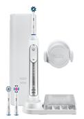 Bild zu ORAL-B Genius 8000N Elektrische Zahnbürste Weiß/Silber für 59€ (Vergleich: 103,43€)