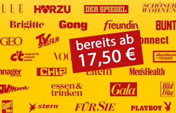 Bild zu [nur noch heute] Leserservice Deutsche Post: verschiedenen 6-Monats-Abos (ab 17,50€) & Prämien im Wert von bis zu 20€ mit dazu + 5€ Extra-Rabatt ab 25€ Bestellwert