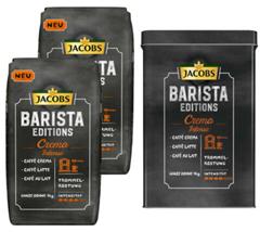 Bild zu JACOBS Barista Editions Kaffee Ganze Bohne 2 kg + Dose (3 verschiedene Sorten) für 19,99€
