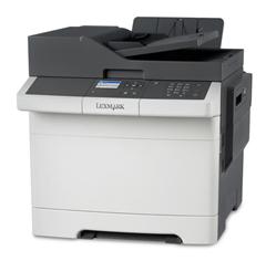 Bild zu LEXMARK CX317dn Farblaser-Multifunktionsgerät (A4, 3-in-1, Drucker, Kopierer, Scanner, Duplex, Netzwerk) für 99,90€ (Vergleich: 194,10€)