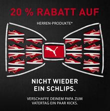 Bild zu Puma: 20% Rabatt auf Herren-Produkte