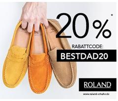 Bild zu Roland-Schuhe: 20% Rabatt auf nicht reduzierte Herrenschuhe