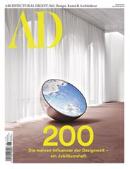 """Bild zu 10 Ausgaben der Zeitschrift """"AD Architectural Digest"""" für 68€ + 60€ Amazon.de Gutschein"""