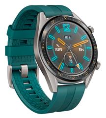 Bild zu Huawei Watch GT Active Smartwatch Metall Dark Green für 149,90€ (Vergleich: 189,90€)