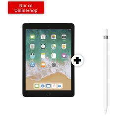 Bild zu [Super] APPLE iPad 2018 (Wifi + LTE) & Apple Pencil für 19€ mit Vodafone 5GB LTE Datenflat oder mit 4GB LTE Datenflat im Telekomnetz für je 19,99€/Monat