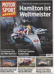 Bild zu MOTORSPORT aktuell (50 Ausgaben) ab 135€ + bis zu 115€ Prämie