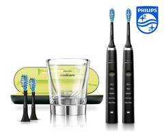 Bild zu Philips Sonicare DiamondClean HX9354/38 Elektrische Zahnbürste (2 Stück) für 175,90€ (Vergleich: 198,91€)