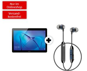 Bild zu HUAWEI Mediapad T3 10 LTE & Sennheiser CX6 für 19€ mit 10GB Telekom LTE Datenflat für 14,99€/Monat