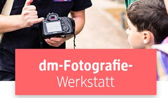 Bild zu Kostenloser Fotografie Workshop in allen DM Filialen