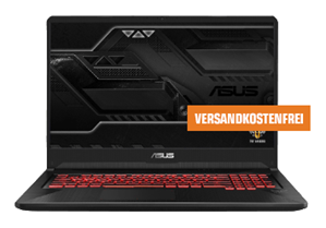 Bild zu [Late Night Deal] ASUS FX705DY-AU040T, Gaming Notebook mit 17.3 Zoll Display, Ryzen 5 Prozessor, 8 GB RAM, 512 GB SSD, Radeon™ RX 560, Plastic für 666€