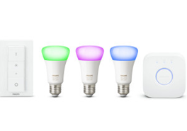 Bild zu Philips Hue White and Color Ambiance Starter Kit E27 + Schalter für 103,05€ (VG: 133,95€)