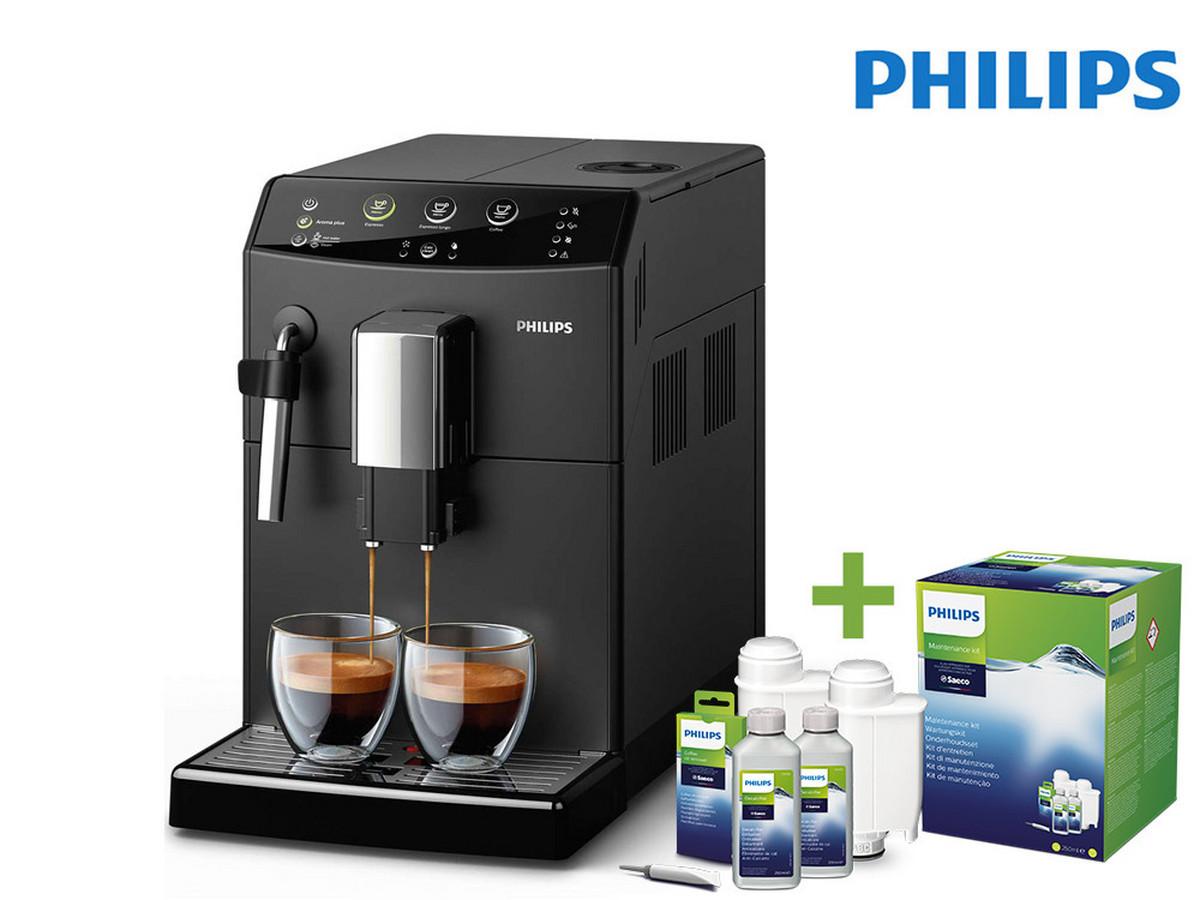 Bild zu Kaffeevollautomat Philips HD8823/01 inklusive Philips CA6707/10 Wartungskit für 248,90€ (Vergleich: 308,10€)