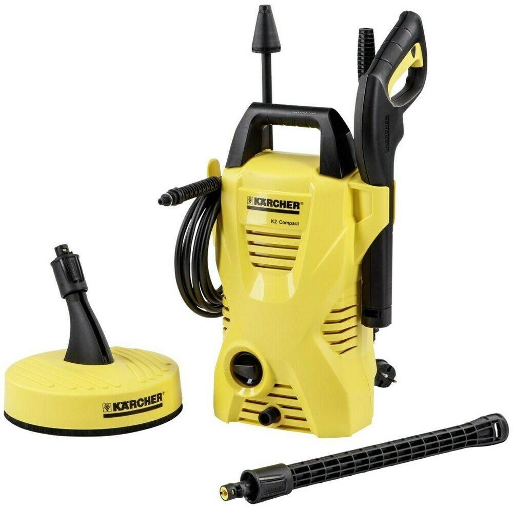 Bild zu Kärcher K 2 Compact Home 1400 Watt Hochdruckreiniger für 79,95€ (Vergleich: 89,99€)