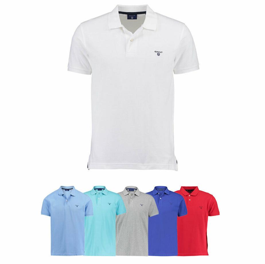 """Bild zu Gant Herren Poloshirt """"The Summer Pique"""" Kurzarm für je 34,90€"""