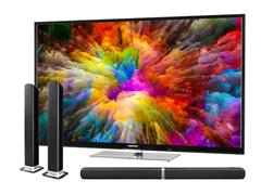 "Bild zu MEDION LIFE X14305 (43"") Smart-TV inkl. wandelbarer TV Soundbar E64058 für 329,95€ (Vergleich: 409,94€)"