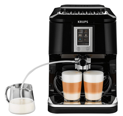 Bild zu Krups EA8808 Kaffeevollautomat Two-in-One-Touch Funktion für 289,90€ (Vergleich: 459€)