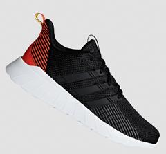 Bild zu adidas Trainingsschuh Questar Flow schwarz/rot (40-46) für 39,95€