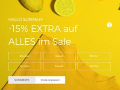 Bild zu About You: 15% Extra Rabatt auf bereits reduzierte Artikel (ab 75€ MBW)