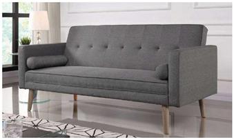Bild zu Happy Home Schlafsofa HSP05 in Grau für 154,45€ (Vergleich: 299€)