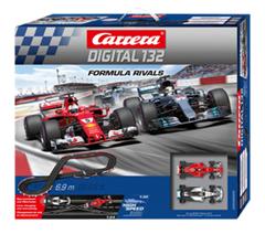Bild zu Carrera Digital 132 Formula Rivals Rennbahn für 148,88€ (Vergleich: 212,15€)