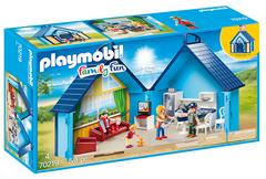 Bild zu PLAYMOBIL-FunPark Aufklapp-Ferienhaus (70219) für 23,94€ (Vergleich: 34,49€)