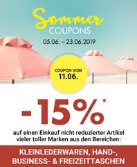 Bild zu Galeria Kaufhof: 15% Rabatt auf Kleinlederwaren, Hand-, Business- & Freizeittaschen