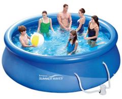 Bild zu Summer Waves Fast Set Pool 366 x 91 cm mit Kartuschenfilter für 59,95€ (Vergleich: 99,95€)