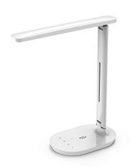 Bild zu TaoTronics Dimmbare LED Schreibtischlampe (3 Farbmodi und 5 Helligkeitsstufen) für 15,99€