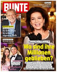 """Bild zu 33 Ausgaben der Zeitschrift """"Bunte"""" für 128,70€ + 120€ Verrechnungsscheck als Prämie"""