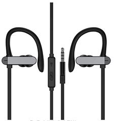 Bild zu In Ear Kopfhörer mit Mikrofon und Ohrbügel für 9,09€