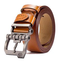 Bild zu BISON DENIM Herren Ledergürtel mit Dornschließe ab 11,89€